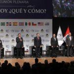 Líderes del Círculo de Montevideo debatieron sobre la crisis financiera en la plenaria